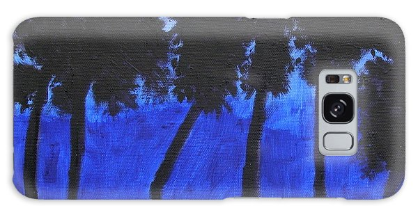 Looming Shore At Night Galaxy Case by Artists With Autism Inc