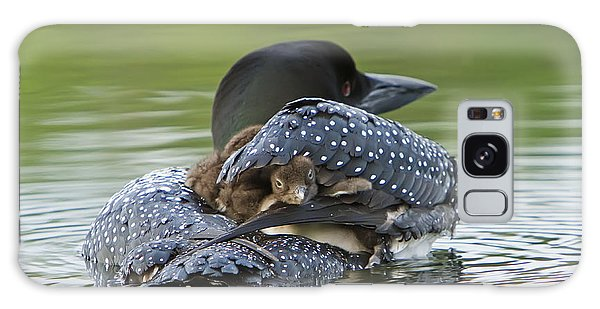 Loon Chick - Peek A Boo Galaxy Case