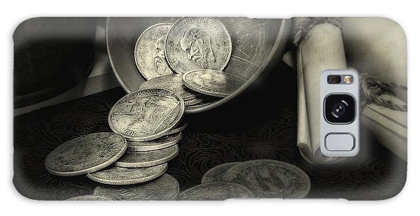 Loose Change Still Life Galaxy Case