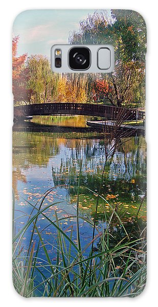 Loose Park In Autumn Galaxy Case by Ellen Tully