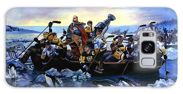 Lord Stanley And The Penguins Crossing The Allegheny Galaxy Case