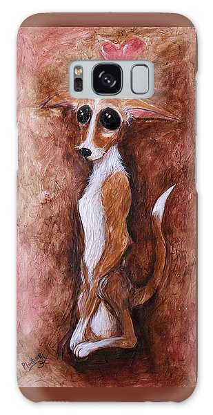 Loretta Chihuahua Big Eyes  Galaxy Case