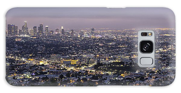 Los Angeles At Night From The Griffith Park Observatory Galaxy Case
