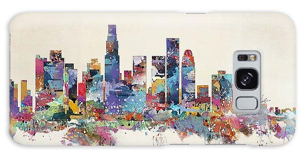 Los Angeles California Skyline Galaxy Case by Bri B