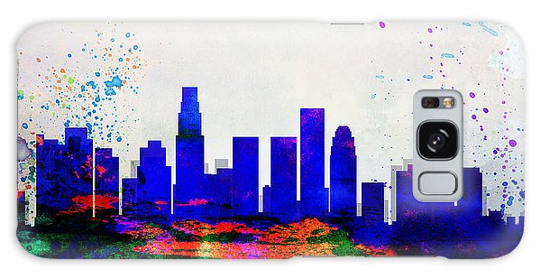 Downtown Galaxy Case - Los Angeles City Skyline by Naxart Studio