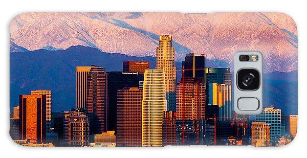Los Angeles In Winter Galaxy Case