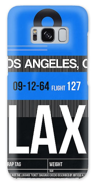 Airport Galaxy Case - Los Angeles Luggage Poster 3 by Naxart Studio