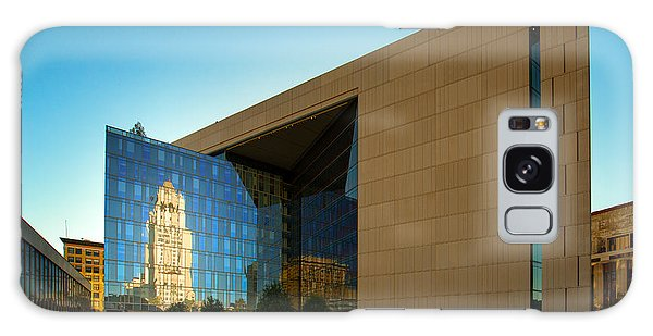 Los Angeles Police Dept Headquarters Galaxy Case by Celso Diniz