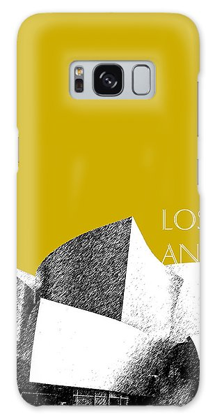 Gehry Galaxy Case - Los Angeles Skyline Disney Theater - Gold by DB Artist