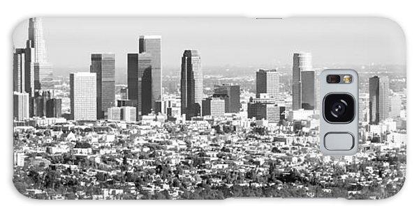 Los Angeles Skyline Panorama Photo Galaxy Case by Paul Velgos