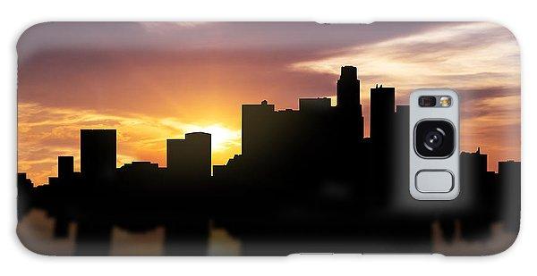 Los Angeles Sunset Skyline  Galaxy Case