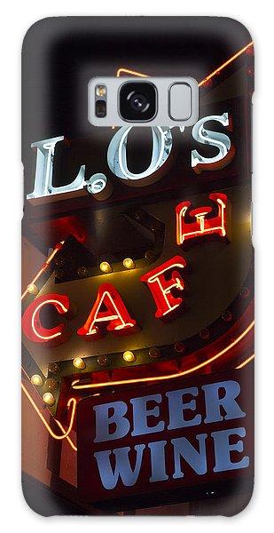 L.o's Cafe Galaxy Case