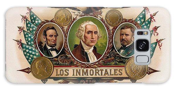Los Inmortales Cigar Box Label Galaxy Case