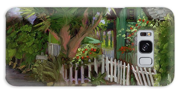 Los Rios Street San Juan Capistrano California Galaxy Case by Alice Leggett