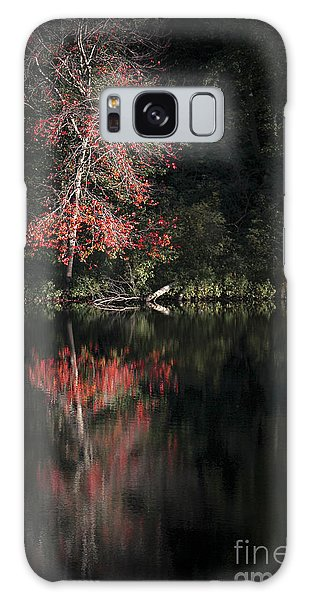 New Leaf Galaxy Case - Lost In The Autumn Of Eternity by Evelina Kremsdorf