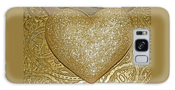 Lost My Golden Heart Galaxy Case
