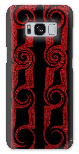 Lost Tribes Galaxy Case by Roz Abellera Art