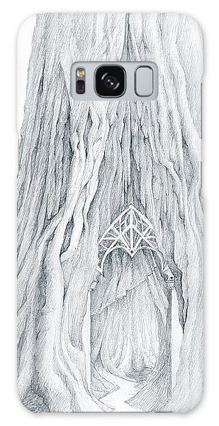 Lothlorien Mallorn Tree Galaxy Case