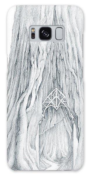 Lothlorien Mallorn Tree Galaxy Case