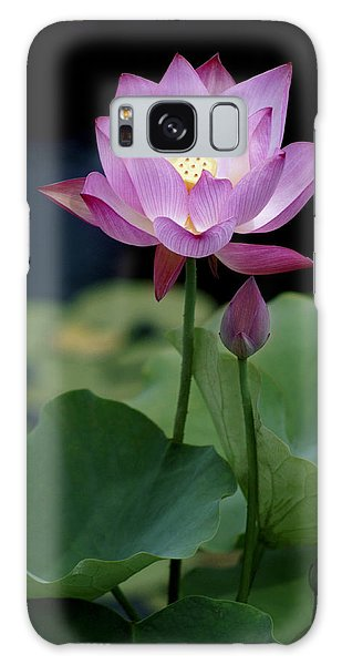 Lotus Blossom Galaxy Case