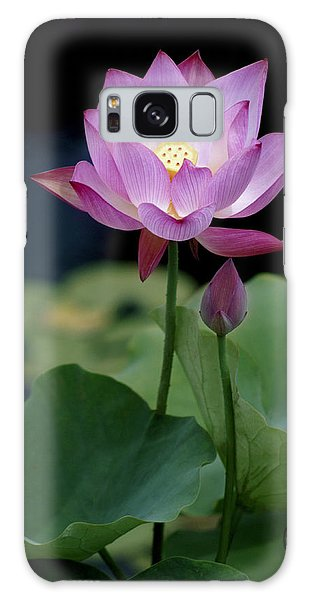Lotus Blossom Galaxy Case by Penny Lisowski