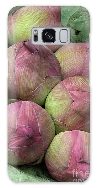 Lotus Buds Galaxy Case by Rick Piper Photography