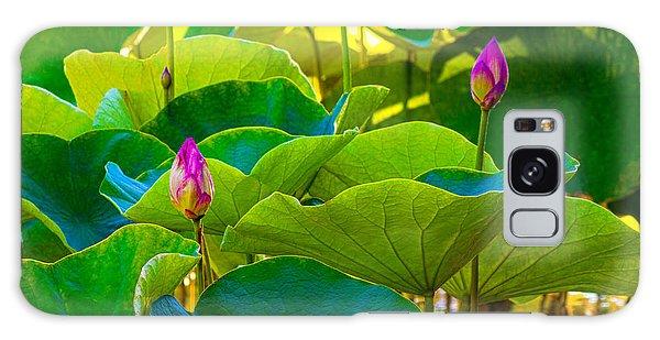 Lotus Garden Galaxy Case