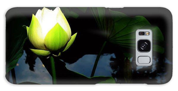 Lotus Flower 2 Galaxy Case