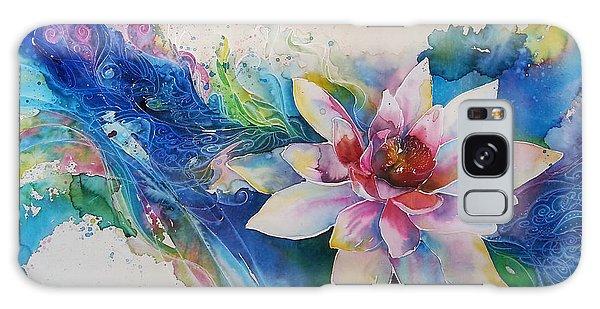 Lotus Flower Galaxy Case by Christy  Freeman