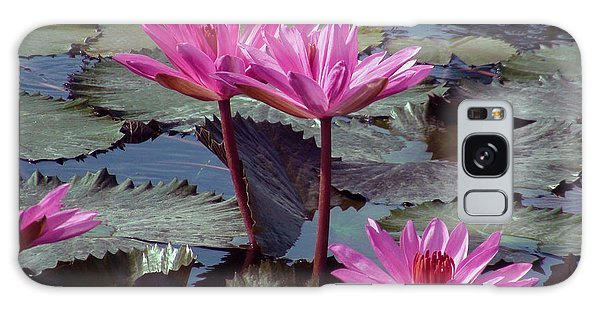 Lotus Flower Galaxy Case by Sergey Lukashin