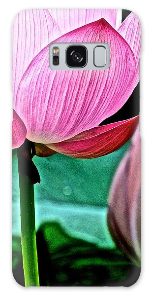 Lotus Heaven - 128 Galaxy Case by Larry Knipfing