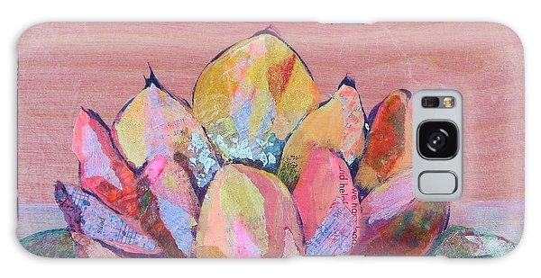Pink Flower Galaxy Case - Lotus I by Shadia Derbyshire
