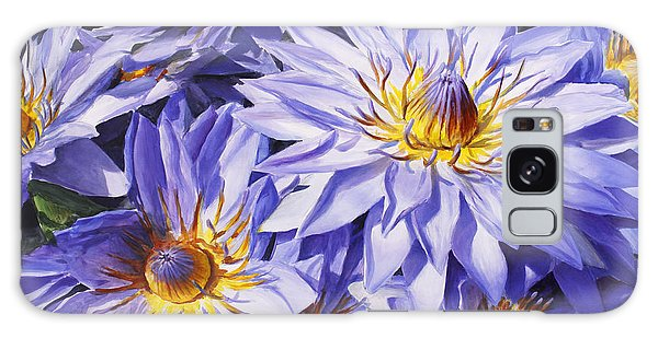 Lotus Light - Hawaiian Tropical Floral Galaxy Case