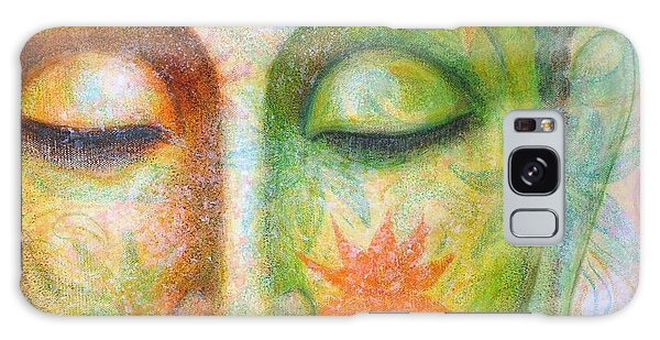 Lotus Meditation Buddha Galaxy Case