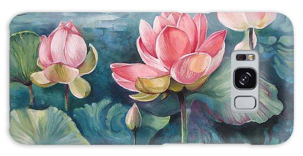 Lotus Pond Galaxy Case