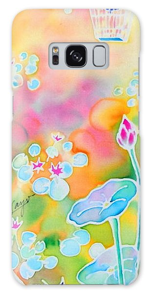 Lotus Pond Galaxy Case
