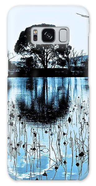 Lotus Pond Winter - 4 Galaxy Case by Larry Knipfing