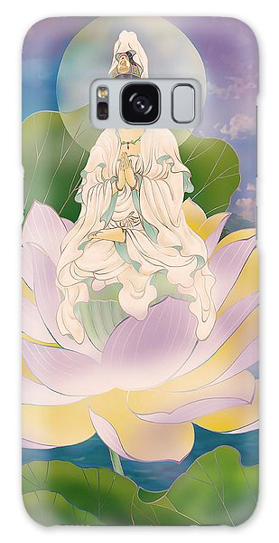 Lotus-sitting Avalokitesvara  Galaxy Case
