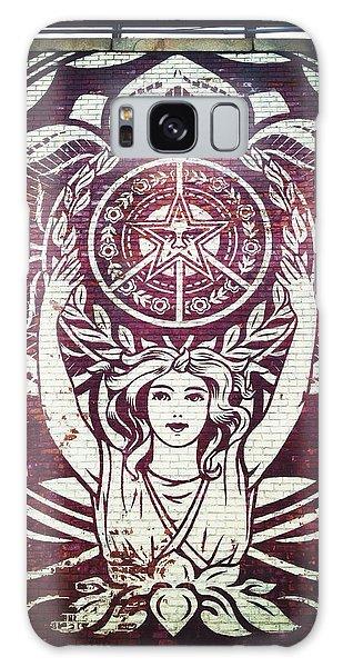 Lotus Woman Of Brooklyn Galaxy Case