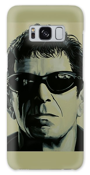 Rock And Roll Galaxy S8 Case - Lou Reed Painting by Paul Meijering