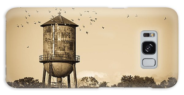 Loudon Water Tower Galaxy Case by Melinda Fawver