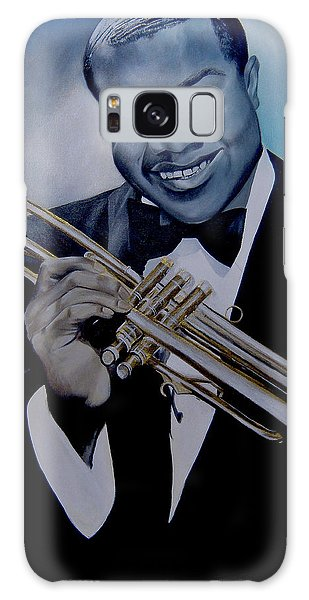 Louis Armstrong Galaxy Case by Chelle Brantley