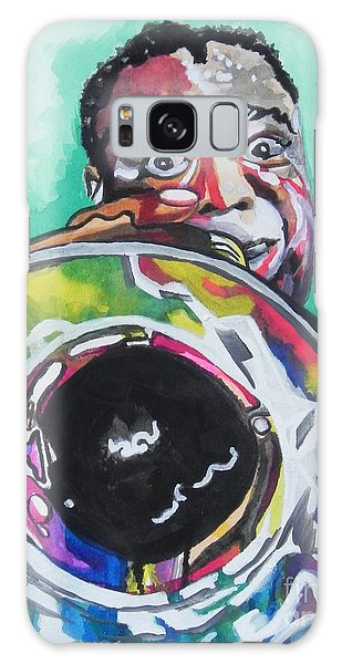 Louis Armstrong Galaxy Case by Chrisann Ellis