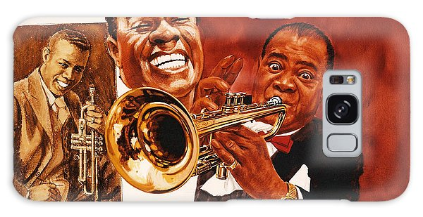 Louis Armstrong Galaxy Case
