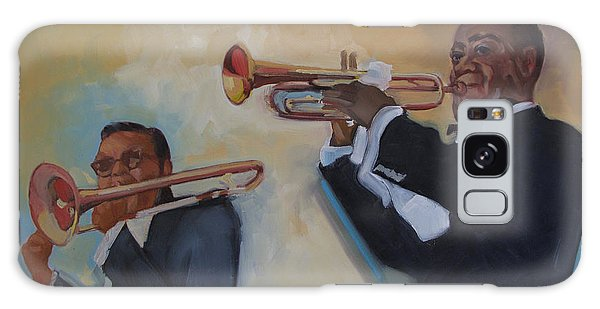 Louis Armstrong With Russell Big Chief Moore                       Galaxy Case