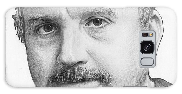 Louis Ck Portrait Galaxy Case