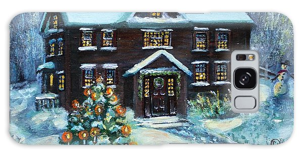 Louisa May Alcott's Christmas Galaxy Case
