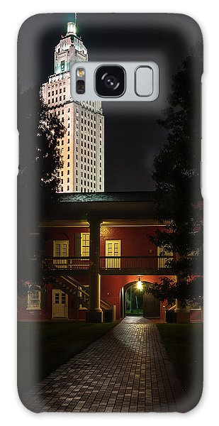 Louisiana State Capitol And Pentagon Barracks Galaxy Case by Andy Crawford