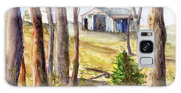 Louisiana Barn Through The Trees Galaxy Case