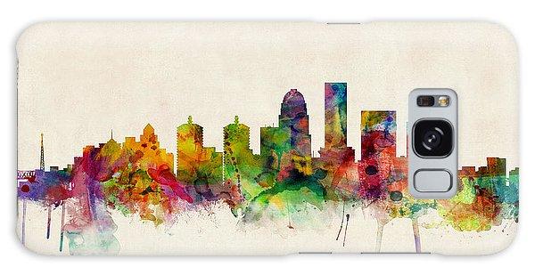 Louisville Kentucky City Skyline Galaxy Case